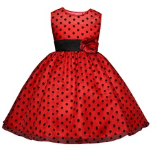 Toddler Baby Girl Dresses Fashion Ball Bown Princess Dress Infant Children Wedding And School Party Clothes For 4-10 Years Wear(China)