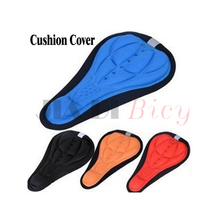 Bicycle Breathable Seat Cover Soft Silicone Saddle Cushion Fixed Gear Mountain Bike Cycling Equipment Accessories 4 Colors
