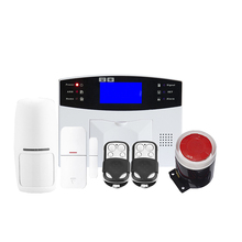 20 Sets/Lot GSM30A MOBILE CALL GSM Alarm System Classic GSM Alarm System LCD Display SIM SMS Alarm