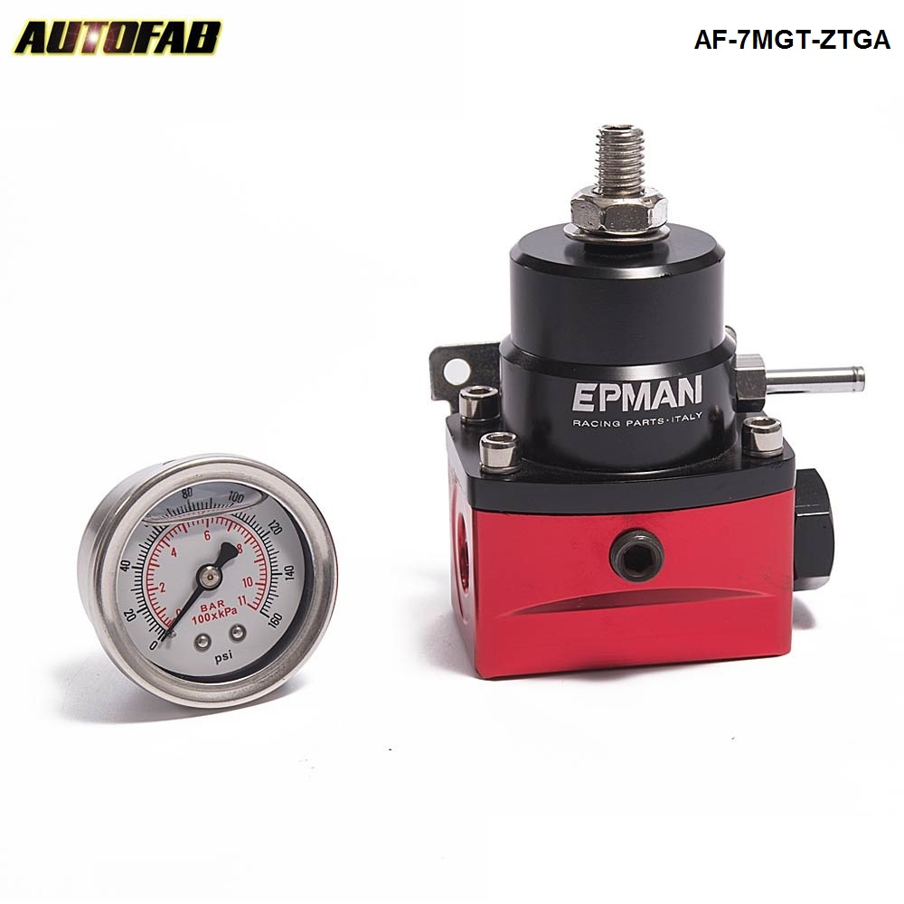 Racing Car New Billet Fuel Pressure Regulator (with Gauge/No with) For Honda 08-12 Accord 2Dr AF-7MGT-ZTGA
