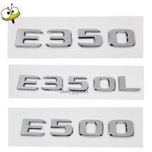 New Car Rear Sticker Emblem Badge Decal Car Styling Number Auto Car Accessories Mercedes Benz E Class E350 E350L E500 AMG GT