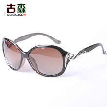 COOLSIR Hot polarized sunglasses women sunglasses wholesale star models UV400 UVB protection fashion sunglasses with rhinestone