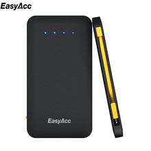 EasyAcc 5000mah power banks Micro-USB Fast Charger Portable Mobile Phone  Powerbank For iPhone 7 6 6s Xiaomi mi5 Redmi3