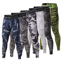 Men's Runs Camo footballs Soccers Pants Leggings Fitness Joggings Trouser Tights active Trainings Gyms Clothing male Camouflage(China)
