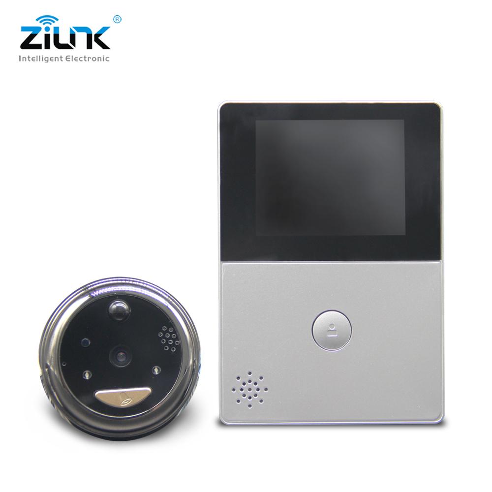 Battery Peephole Video Doorbell Camera Cat Eye_DB32S (2)
