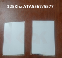 600pcs/lot 125KHz RFID card ID card t5577 card(China)