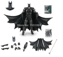 NEW 16cm Batman Action Figure set Justice League Batman Mobile Action Figure Toys The Dark Knight Rises Batman Christmas Doll