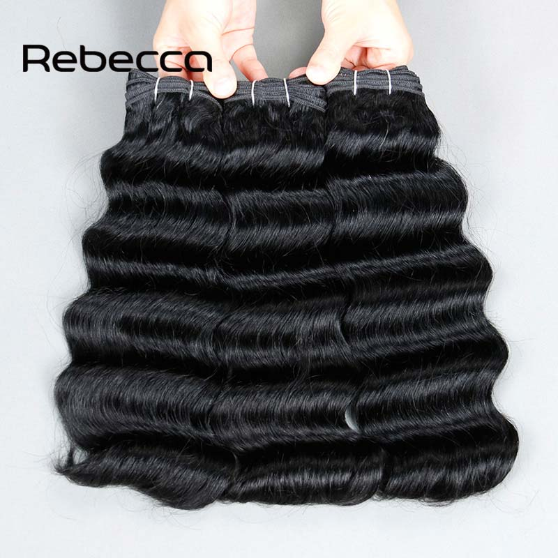 Rebecca Rosa Brazilian Body Wave 3 Bundles Deals 8A Brazilian Virgin Hair Body Wave Mink Brazilian Hair Weave Bundles Human Hair<br><br>Aliexpress