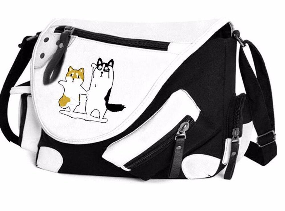 God Dog Husky backpack Pocket shoulder Handbag bag New<br>