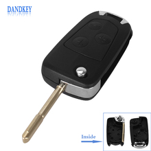3 Buttons Replacement Remote Case Fob Flip Folding Car Key Shell Blank For Ford Mondeo Free shipping  sc 1 st  AliExpress.com & Ford Remote Replacement Promotion-Shop for Promotional Ford Remote ... markmcfarlin.com