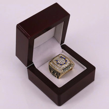 US size factory wholesale price 2009 AFC Indianapolis Colts championship ring replica solid ring drop shipping(China)