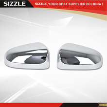 Decoration Plastic Chrome Rearview Door Side Mirror Covers Trim For Toyota Camry 2012-2016