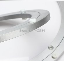 487mm 19 inch Quilt and Smooth Aluminum Lazy Susan swivel plate round turntable bearings Hardware Accessories(China)