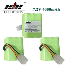 ELEOPTION 3PCS High quality For Neato XV-11 Vacuum Cleaner Battery 7.2v 4000 mAh Battery Replacement For Neato 945-0005 Set(China)