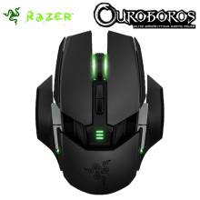 Razer Ouroboros Wired or Wireless Gaming Mouse 8200 DPI 4G Laser Sensor Ambidextrous Razer Mouse with Charging Dock
