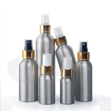 10PC 250ml Amazing travel perfume atomizer refillable spray empty perfume bottle easy used aluminum scent bottle
