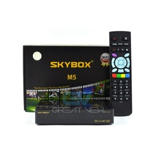 Original Skybox M5 S-M5 Mini HD digital satellite receiver with wifi build in support cccam newcam Network EPG(China)