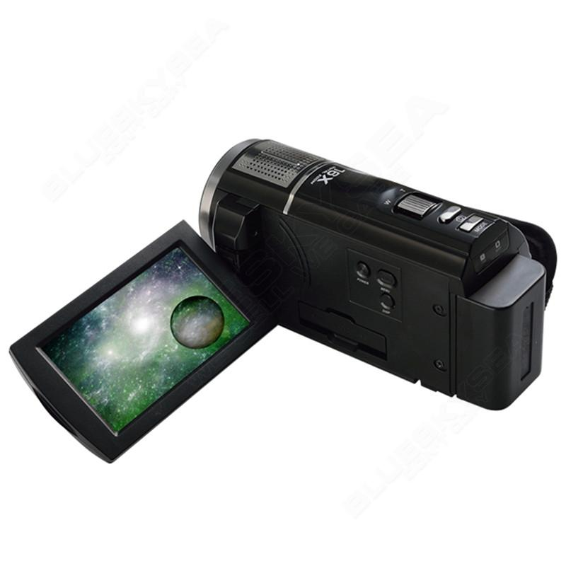 "ORDRO HDV-F5 1080P Digital Video Camera Max 24MP 16X Anti-shake 3.0"" Touch Screen LCD Camcorder DV With Remote Controller 16"
