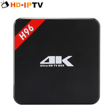 H96 Android TV Box Amlogic S905 Quad Core 64Bit 4K Media Player FHD 1080P IPTV Box HDMI Android 5.1Smart TV Box
