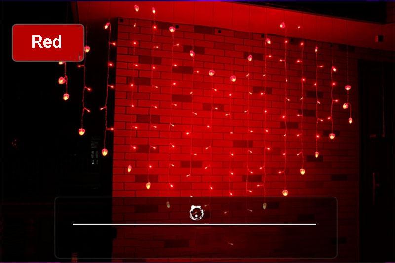 REd wedding decoration