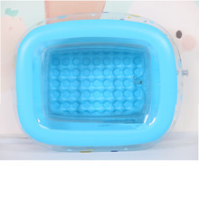 Inflatable Baby Swimming Pool Eco-friendly PVC Portable Children Bath Tub Kids Mini-playground 110*90*40cm Dropshipping