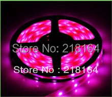 Led Strip Dimmer 5050 5m RGB Waterproof 5meter/bag 5050 300leds 12V 5A power 14.4W/M 12V DC IP65(China)