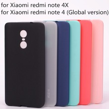 Xiaomi redmi note 4X case Silicon cover TPU case for xiaomi redmi note 4 4X Global version Snapdragon 625 Chip 5.5 inch