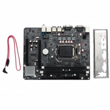 AMZDEAL H55 Chipset Socket LGA 1156 Computer PC Integrated Motherboard DDR3 Mainboard High Quality(China)