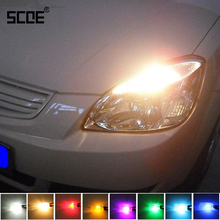 SCOE Car Styling 2x6SMD LED Front Side Maker Front Width Clearance Light Bulb Source For Kia Optima Rio Rio5 2013 Eight Colours