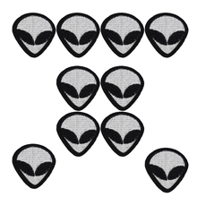 Buy 10pcs Alien patches punk badges clothing iron embroidered patch applique iron patches sewing accessories DIY clothes for $2.92 in AliExpress store