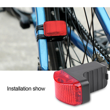 Waterproof Bicycle Tail Light Safety Rear Light With Magnet Night Warning Taillights Electromagnetic Bike Lights(China)