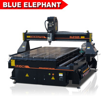 Blue Elephant Axis 4 CNC Router with Rotary Devise, 4x8ft Bed CNC Milling Machine, T-slot/Vacuum Table CNC Router(China)