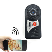 best HD mini dv video camera wifi espia Q7 mini home security camera Wireless IP Cam DVR Camcorder Recoder(China)