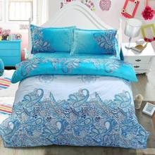 Home Textile,Reactive Print 3/4 Pcs 3D bedding sets Full/Queen/King Size Bed Quilt/Doona/Duvet Cover Pillowcase set New 2015
