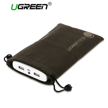 Ugreen Phone Pouch Power Bank Bag for Mobile Phone Accessories Powerbank Cables Portable Waterproof Drawstring Protection Bag(China)