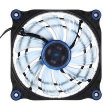 CPU Liquid Cool Fan Water Element 120t 240K Hydro Bearing Water Cooling System Blue LED PWM Liquid Cooling Fan for PC Hardcore(China)