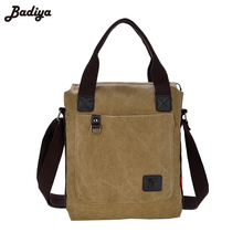 Vogue Practical Men's Shoulder Bag Canvas Crossbody Side Bag Totes Everyday Messenger Bag