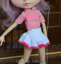 Best Design Doll Clothes Doll Dress Doll Tennis Skirt (suitable for blyth,1/6 Doll)DS010