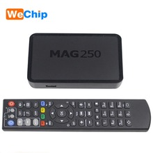 Wechip Hot Iptv Set Top Box Mag 250 Linux System Iptv Mag250 STi7105 Mag250 Linux TV Box 256M Same With Mag254 Media Player(China)