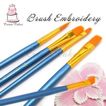 10pcs/set Cake Decorating Pen Tool Wedding Fondant Cupcake Decoration Brush Sugar craft Brush Cake Baking Tools Art Pen BT-10