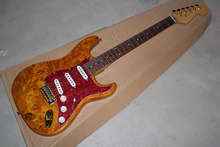 . Free Shipping! Factory Guitar Top Quality Stratocaster Custom Body Golden Hardware Electric Guitar custom shop .