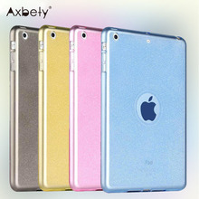 Fashion TPU Case For iPad Air Case Glitter Silicon Protection Cover Case For apple ipad 5/ipad Air Case Soft Plastic Clear Cover