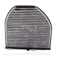 New Grey Cabin Carbon Air Filter 212 830 03 18 For 2008-2012 MB for Benz GLK350 C250 C300 C350 C63 AMG CLS550 Free Shipping