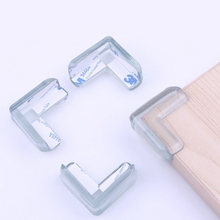Baby safty Infant collision angle glass table crash bar kids child protection angle baby Edge Corner Guards 10 pcs/lot-P101