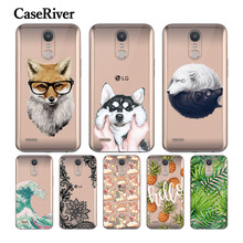 Buy CaseRiver Soft TPU Silicone Case FOR LG K10 2017 Cover Painting Patterned Fashion Back Protective Phone sFOR LG K10 2017 Case for $1.14 in AliExpress store