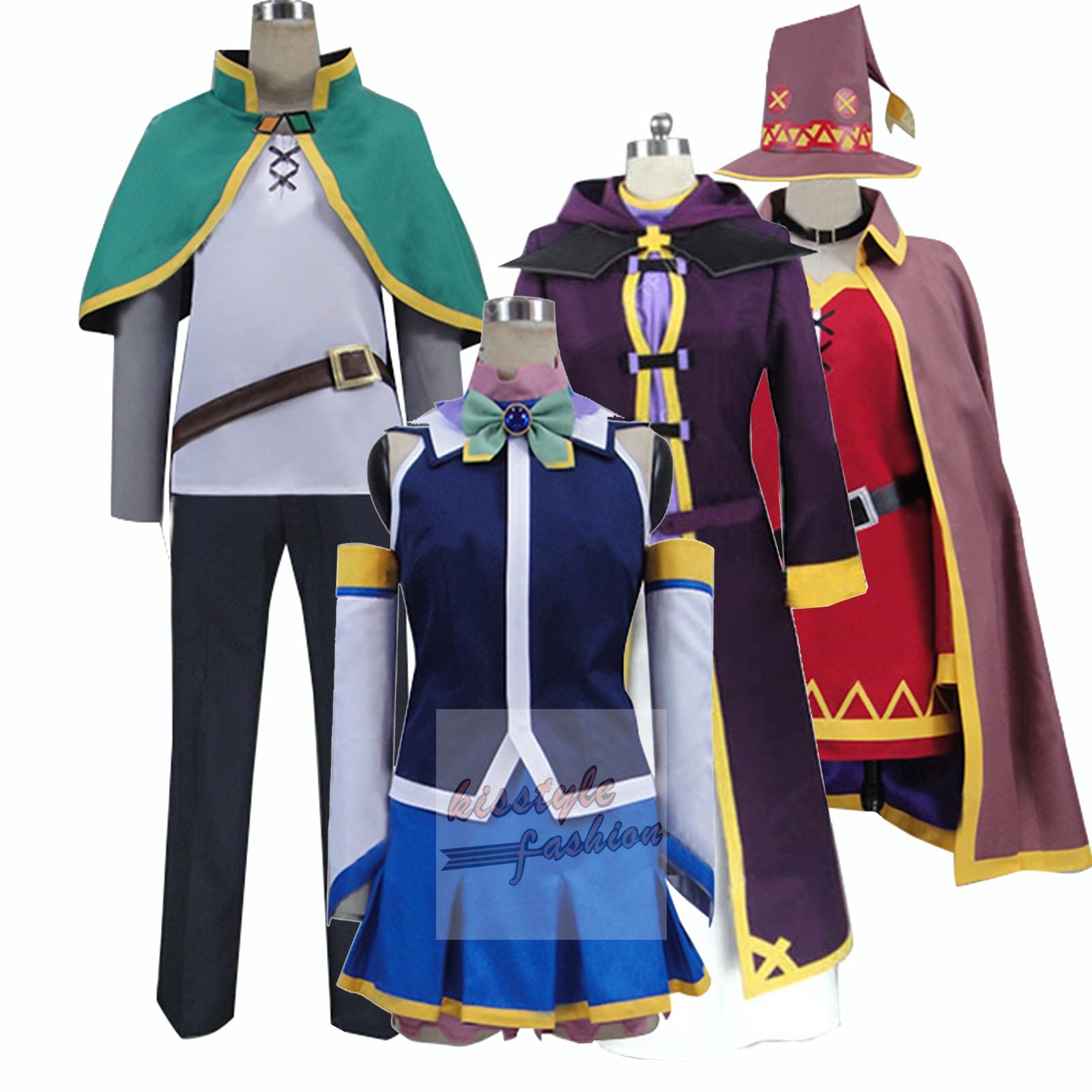 Track KonoSuba God's Blessing on this Wonderful World Aqua Cosplay Costume