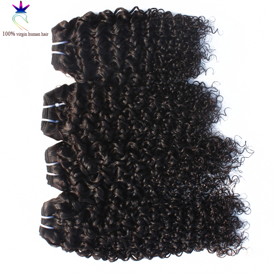 malaysian remy human hair afro kinky curly hair 4 pcs lot luvin hair malaysian virgin human hair extensions malaysian weaves<br><br>Aliexpress