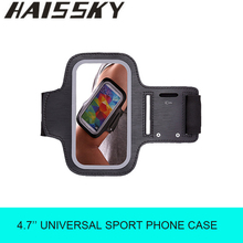Haissky Fitness Running Sports Arm Band Phone Case For iPhone 5 5S 5C SE 4 4S 3G / 3GS Case For Samsung Galaxy S2 S3 Cover Pouch