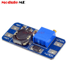 Free Shipping 5PCS MT3608 DC-DC Step Up Converter Booster Power Supply Module Boost Step-up Board MAX output 28V 2A For Arduino
