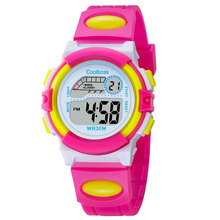 New Small Sport Students Children Watch Kids Watches Boys Girls Clock Child Electronic LED Digital Wrist Watch for Boy Girl Gift(China)